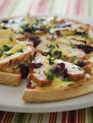 Cranberry & Brie Pizza