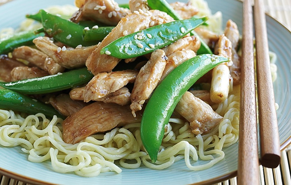 Chicken Stir Fry With Asian Veges