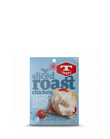 Tegel Sliced Roast Chicken 150g