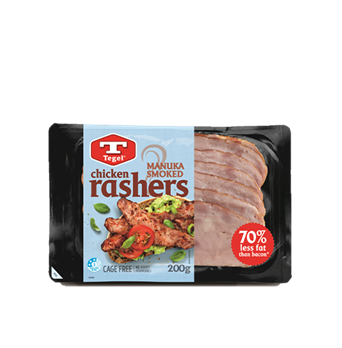 Tegel Manuka Smoked Chicken Rashers