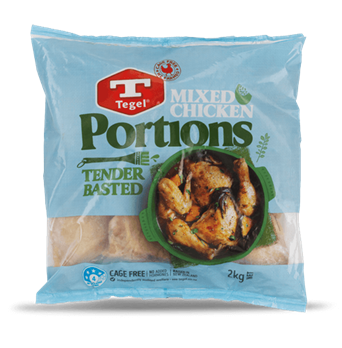Tegel Mixed Chicken Portions 2kg