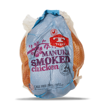 Tegel Manuka Smoked Whole Chicken - Original 1.1kg