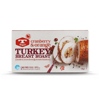 Tegel Turkey Roast with Cranberry & Orange Stuffing