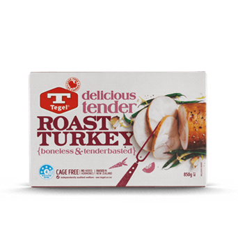 Tegel Turkey Roast 850g