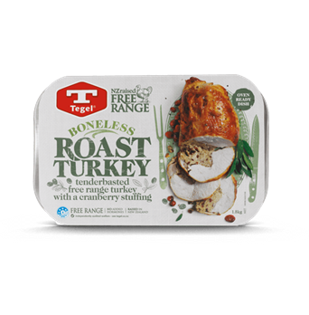 Tegel Free Range Boneless Roast Turkey with Cranberry Stuffing