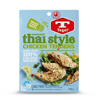 Tegel Thai Syle Chicken Tenders 150g